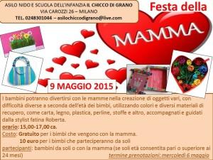 OPEN DAY – Festa della Mamma 9 maggio 2015